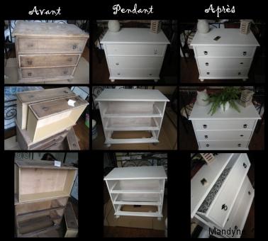 mandyne nouvelle chambre et renaissance d un meuble. Black Bedroom Furniture Sets. Home Design Ideas